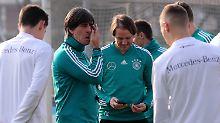 Mindestens fünf Neue: Löw baut die DFB-Elf gegen Brasilien um