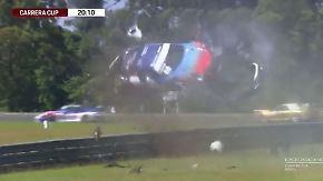 Kaum zu glauben, aber wahr: Porsche überschlägt sich bei Carrera-Cup-Crash achtmal