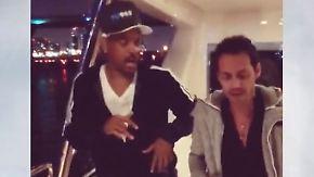 Promi-News des Tages: Marc Anthony bringt Will Smith das Tanzen bei