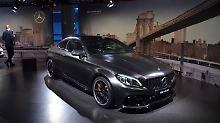 Mit dem Mercedes-AMG C 63 S Coupé haben die Stuttgarter die schärfste Form der C-Klasse in New York präsentiert.