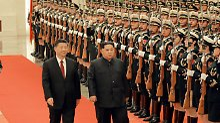China bestätigt Besuch: Kim stellt Abbau von Atomwaffen in Aussicht