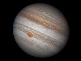 Aufnahme des Jupiter vom 25. Februar 2017.