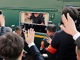 An Bord mit Kim Jong Un: So sieht es im angeblichen Luxus-Zug aus