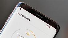 Schlechte Noten für Samsung: Ist das Galaxy S9 ein Akku-Schwächling?
