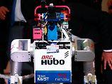 Dieser Roboter von Kaist wurde beim Weltwirtschaftsforum in Davos vorgestellt und trägt keine Waffen.