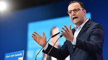 Gesundheitsminister Spahn kritisiert eine Schieflage von Recht und Ordnung in Deutschland.