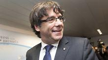 """Wir sehen uns morgen"": Puigdemont feiert OLG-Entscheidung"