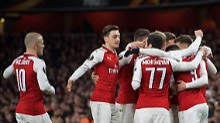 Özil als Vorlagen-König: Arsenal demonstriert Stärke gegen Moskau