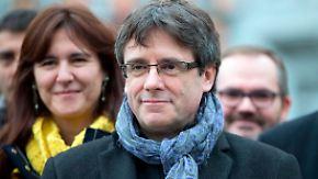 Schlappe für spanische Justiz: Puigdemont kommt auf Kaution frei