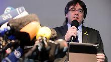 Temporärer Wohnsitz in Berlin: Puigdemont fordert Madrid zum Dialog auf