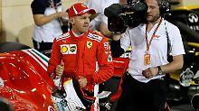 Ein wenig Glück ist auch dabei: Sebastian Vettel.