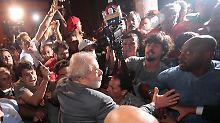 Urteil zu zwölf Jahren Haft: Lula stellt sich nun doch