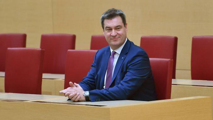 """Markus Söder will in Bayern """"Ganztagesklassen"""" für Zuwandererkinder einführen."""