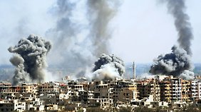 Luftangriff auf Rebellenhochburg Duma: Syrische Armee setzt wohl erneut Giftgas ein