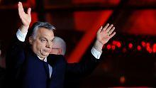 Glückwünsche und Mahnungen: Orbans Wahlsieg spaltet Europa