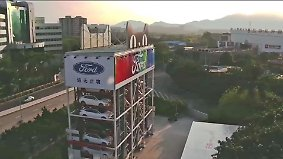 Kauf in zehn Minuten: Chinesen ziehen sich neues Auto am Automaten