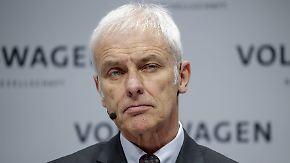Kundenschelte und DDR-Vergleich: Müller ließ als VW-Chef nur wenige Fettnäpfchen aus