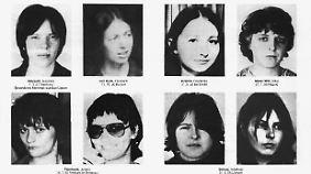 Fahndungsplakat aus den 70er Jahren.