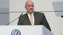 Volle Rückendeckung für Diess: VW-Betriebsrat unterstützt Konzernumbau