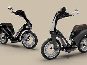 Der E-Scooter Ujet ist die mit Abstand progressivste Neuheit im derzeit stark wachsenden E-Roller-Markt.