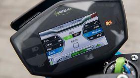 Total digital: Das Cockpit der Energica Eva EsseEsse9.