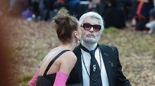 """""""Ich habe es satt"""": Karl Lagerfeld ätzt gegen #MeToo"""