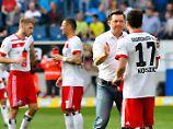 HSV-Interimscoach Christian Titz flüchtete sich in Hoffenheim in Phrasen.