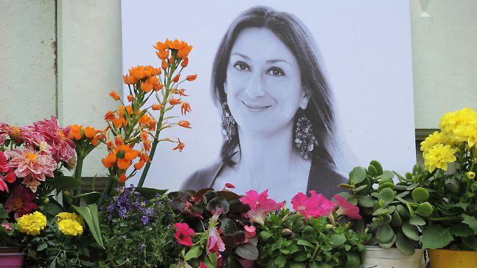 """""""Die Lage ist hoffnungslos"""", waren die letzten Worte, die Daphne Caruana Galizia schrieb, bevor sie starb."""