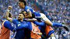 """""""Er wurde heute geadelt - und das zu Recht"""", kommentierte Schalke-Boss Clemens Tönnies die Feiereinlage nach dem ersten Schalker Derbysieg seit September 2014, also seit einer Ewigkeit."""