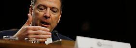 """Moralisch ungeeignet"": Ex-FBI-Chef Comey greift Trump scharf an"