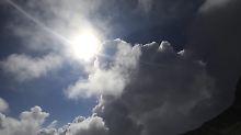 Sonne über dem Olymp.