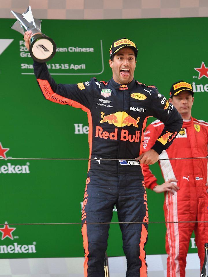 """""""Sein unglaublicher Erfolg hatte am Ende viel mit Glück zu tun"""": Daniel Ricciardo."""
