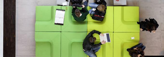 In Deutschland gibt es etwa 460 Coworking Spaces mit rund 31.000 Arbeitsplätzen.