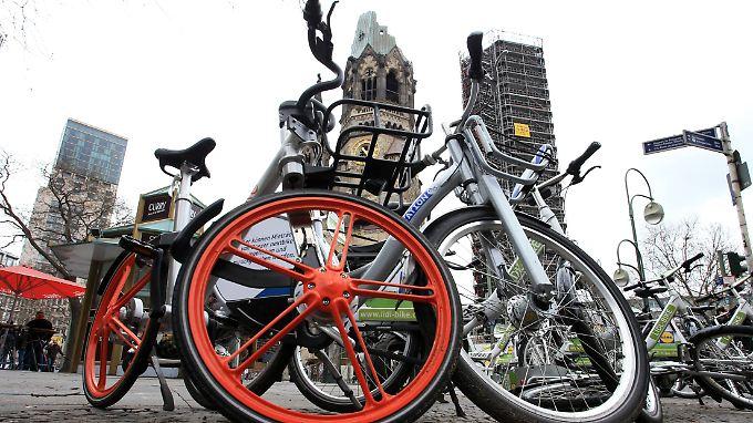 Mehrere Fahrradverleiher an einem Ort bedeuten niedrigere Preise für die Kunden.