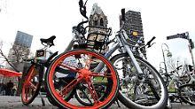 Fahrradverleih der Zukunft?: E-Bikes sollen die Innenstädte erobern