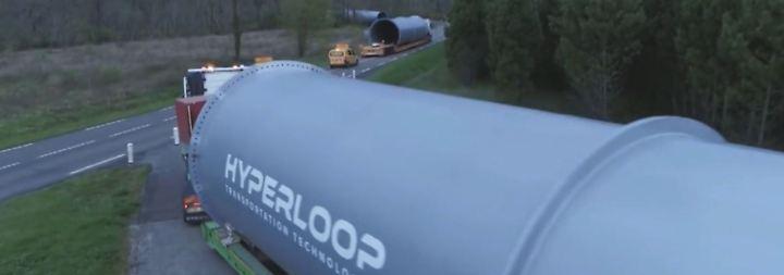 Hochgeschwindigkeitsröhre bei Toulouse: Bau der ersten Hyperloop-Strecke Europas beginnt