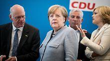 Zweifel an EU-Kurs bleiben: Unionsfraktion gibt Merkel grünes Licht