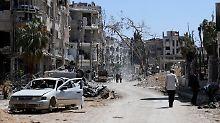 Giftgas-Prüfung verzögert sich: UN-Team wird in Duma beschossen