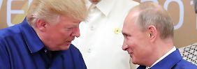 Comey-Notizen zu Trump-Gespräch: Putin prahlte über Russlands Prostituierte