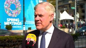 """Andreas Dombret zur Weltwirtschaft: """"Es wird eine Zeit nach dem Boom geben"""""""