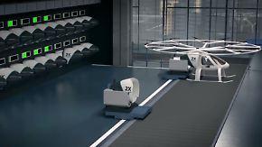 Startup will Tausende Passagiere befördern: Volocopter feilt an elektrischen Flugtaxis