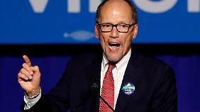 Der Vorsitzende der Demokraten, Tom Perez