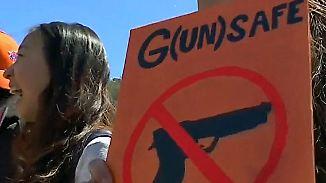 Landesweite Proteste: US-Jugend kämpft für strengere Waffengesetze