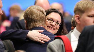 Neue Ära, schlechter Start: Jetzt muss Nahles nur noch die SPD retten