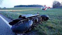 Motorradfahrer verunglücken: Tödliche Unfälle überschatten Wochenende