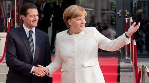 Appell für freien Welthandel in Hannover: Mexiko und EU einigen sich auf Handelsabkommen