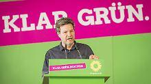 Der Grünen-Vorsitzende Robert Habeck