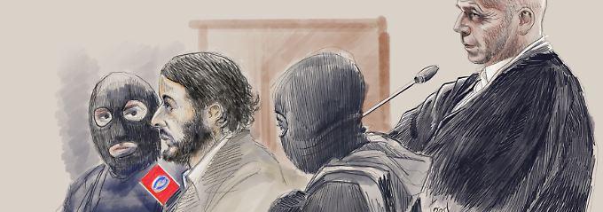 Schüsse auf belgische Polizisten: Gericht verurteilt Paris-Attentäter Abdeslam