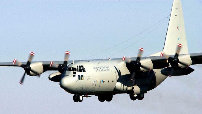"""Auch sechs """"Hercules""""-Transportflugzeuge stehen laut Medienberichten auf der Anschaffungsliste der Bundeswehr."""