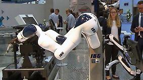 Neue Visionen auf Hannover Messe: Wirtschaft setzt auf intelligente Roboter